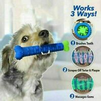 Chew Toy Dog Toothbrush Pet Molar Tooth Cleaning Brushing Puppy Stick S9O4