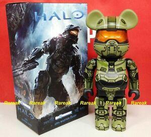 Medicom 2014 Be@rbrick Microsoft Halo 4 Master Chief 400% S28 Hero Bearbrick 1p