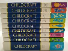 Childcraft How and Why Annual Books 1989-96 & Dictionary 9 Books Home School