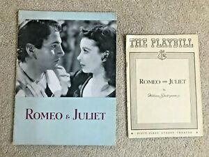 """""""ROMEO and JULIET"""" Playbill, Souvenir Book + 3 Autographs Broadway"""