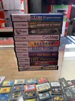 Nintendo Ds Lot With Games And Cases 10 Games