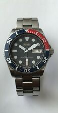 Seiko 7S26-0040 Stainless Steel Water resist 10 Bar 21 Jewels Automatic Black