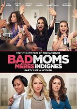 Bad Moms (DVD, 2016, Canadian, FRENCH INCLUDED)