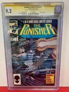 CGC 9.2 SIGNATURE SERIES PUNISHER #1(1986)! SIGNED BY STAN LEE & JOHN ROMITA SR!