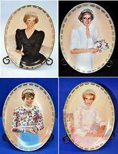 BUY 2 GET 2 FREE Lot of 4 Princess Diana Collector's Plates 2nd 3rd 5th 6th