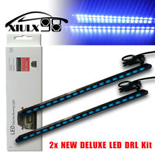 2X 5630 18-SMD COB LED Light Bulbs Car Daytime Running DRL Fog Lamp Ultra Blue