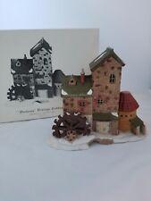 Dickens Village Original Collection - 12 piece Includes Original Mill