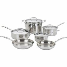 Cuisinart Corporation 77-10 10-pc.chef's Classic Cookware Ss (7710)