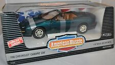 ERTL 1/18 American Muscle 1996 Chevy Camaro Z/28 Convertible Mystic Teal 7231 96
