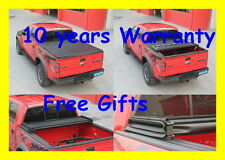 Premium Trifold Tonneau Tonno Cover For 07-15 Toyota Tundra 6.5ft/78in Bed