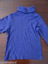 T-shirt mixte col roulé violet OKAOU  Taille 7-8 ans /  126 cm