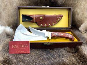 Vintage Buck 0401-00-0 Kalinga Knife Buckarta Handle & Leather Sheath Mint Box