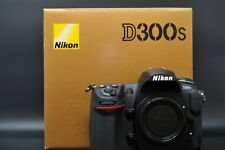 [Mint In Box] Nikon D300S 12.3 MP Digital SLR Camera Black Shutter Count 22000