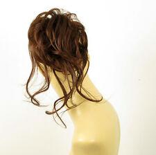 Hair Extension Scrunchie dark coppery brown ref 22 31 peruk