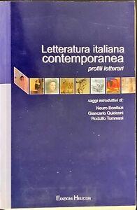LETTERATURA CONTEMPORANEA PROFILI LETTERARI - HELICON 2011