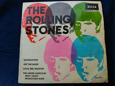 EP THE ROLLING STONES - SATISFACTION + OFF THE HOOK + 2 -DECCA SPAIN 1965 VG/VG+