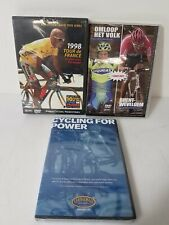 Lot of 3 Cycling Dvds Bicycle Racing -Training - 1998 Tour de France - Sealed