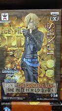 ONE PIECE FILM GOLD GRANDLINE MEN Vol. 4 SANJI FIGURA FIGURE NEW NUEVA DXF