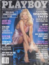 SHANNON TWEED January 1998 PLAYBOY Magazine BETTIE PAGE  TERI HATCHER