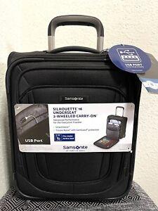 Samsonite Silhouette 16 Under-Seat 2 Wheeled Carry-On USB Port