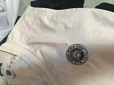 Walt Disney World Nike Golf tan   wind  shirt  vest Jacket adult Men's  Medium