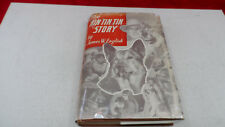 The Rin Tin Tin story by J.W. English HC RARE 1949 Signed Lee Duncan w/Paw Print