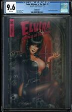CGC 9.6 WP Elvira: Mistress of the Dark #1 by Monte Michael Moore Variant