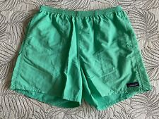 Men's Patagonia Baggies Shorts Size Large (Green) EUC