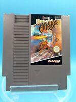 jeu video super nintendo nes loose BE FRG castlevania III dracula's curse