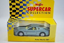 MAISTO 1:40 ASTON MARTIN DB7 Supercar with Opening Doors & Pull Back & Go Action