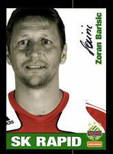 Zoran Barisic Autogrammkarte Rapid Wien 2008-09 Original Signiert+159247