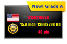 "New B156XTN02.0 LED LCD Screen for Asus X551MAV-HCL1201E 15.6"" Laptop Glossy"