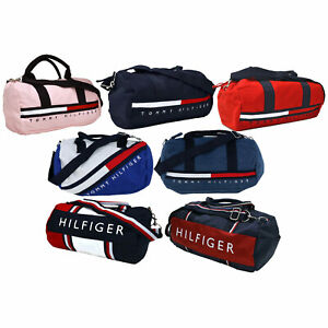 Tommy Hilfiger Mini Duffel Bag Unisex Mens Womens Shoulder Travel Duffle Gym New