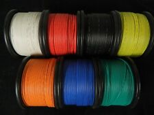 16 GAUGE WIRE PICK 2 COLORS 100 FT EACH PRIMARY AWG STRANDED COPPER POWER REMOTE