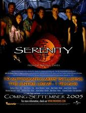 Serenity Firefly Movie Trading Card Dealer Sell Sheet Sale Ad Inkworks 2005