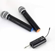 Hisonic HS428 Dual UHF Wireless Handheld Microphone with Bluetooth Receiver