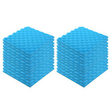 "24 Pack Acoustic Foam Panel Sponge Studio Soundproofing Wall Tiles 12""X12"""