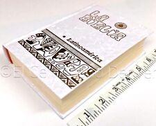 Biblia Elegante Blanca Pasta Dura-Nacarina - La Biblia Latinoamerica Bolsillo