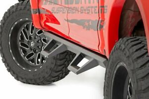 Rough Country Ford XL2 Drop Steps 2015-20 F-150/17-20 F-250 | Crew Cab