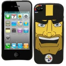 Pittsburgh Steelers NFL McBeam Mascot iPhone 4/4s Silicone Soft Protective Case