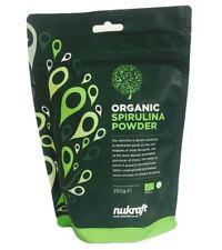 500g Orgánico spirulina polvo por Nukraft - alto contenido en Proteína y B