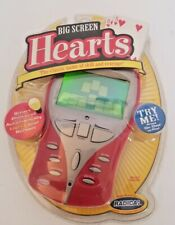 NEW Radica Big Screen Hearts Handheld Electronic Game Lighted Screen 2005 Sealed