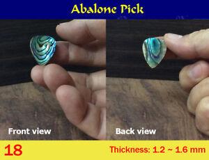 Green Abalone Pick (1 pcs) (18-2)