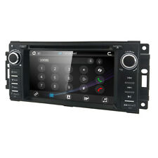 """6.2"""" 1Din Stereo Car Radio DVD Player Bluetooth GPS IPod CanbusFor Jeep Wrangler"""