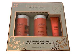 Crabtree & Evelyn Cult Collection Pomegranate & Argan Oil Shower Gel Set