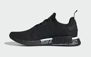 Adidas Originals NMD R1 Japan BD7754 Black Black White Mens 8.5 9 9.5