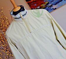QUIKSILVER Boys Jacket Coat LS Polyester Light Green Half Zip Mesh Lined Age 16