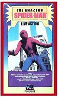 vhs AMAZING SPIDER-MAN 1977 Nicholas Hammond RARE PLAYHOUSE Video Collectible