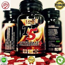 T5 FAT BURNER BIG CAPSULES PURE STRONGEST LEGAL SLIMMING PILLS DIET WEIGHT LOSS