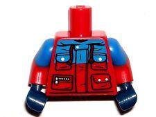 LEGO Red Torso Winter Jacket 4 Pockets Wildlife Photographer Minifigure 71013